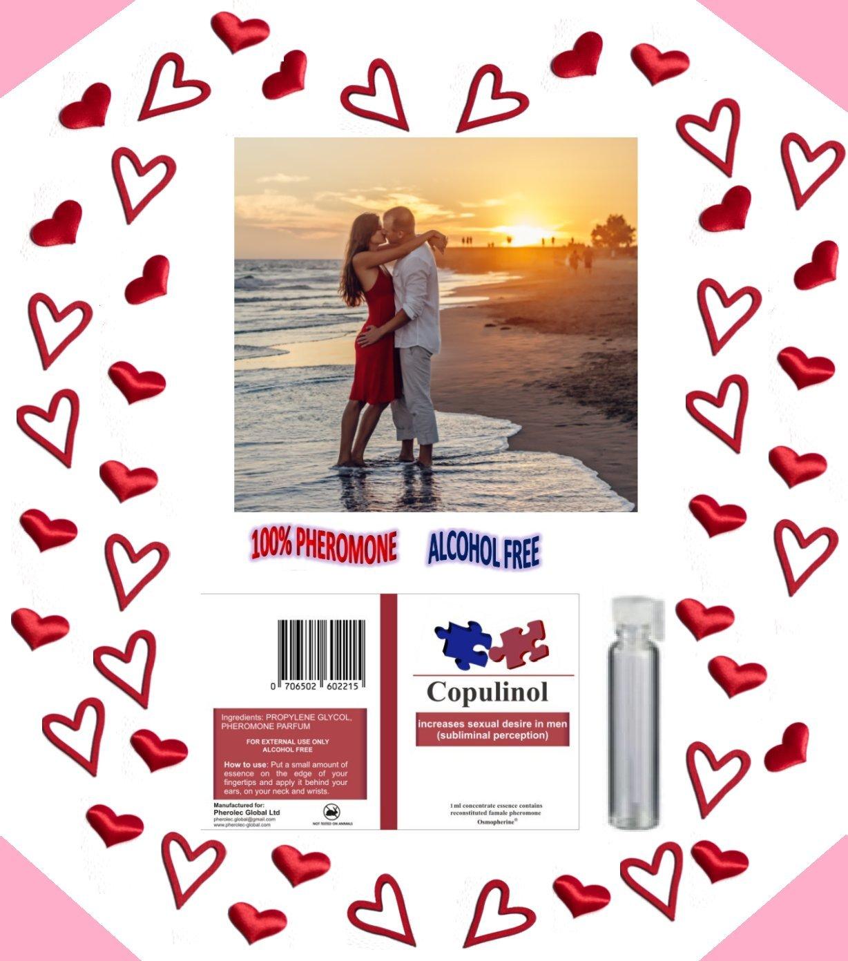 Best Pheromones COPULINOL 1ml 100% for Women Attract Men Infused Sex for Her Pherolec Global Ltd