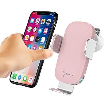 Hinyx - Cargador de Coche inalámbrico de 10 W Qi para iPhone ...