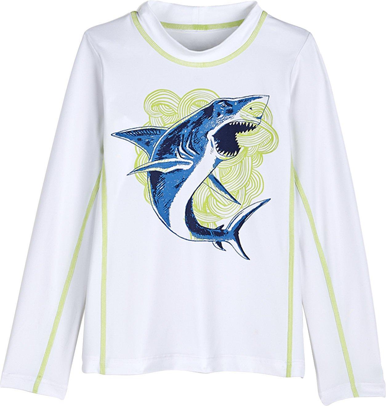 Coolibar UPF 50+ Kids' Long Sleeve Surf Shirt - Sun Protective