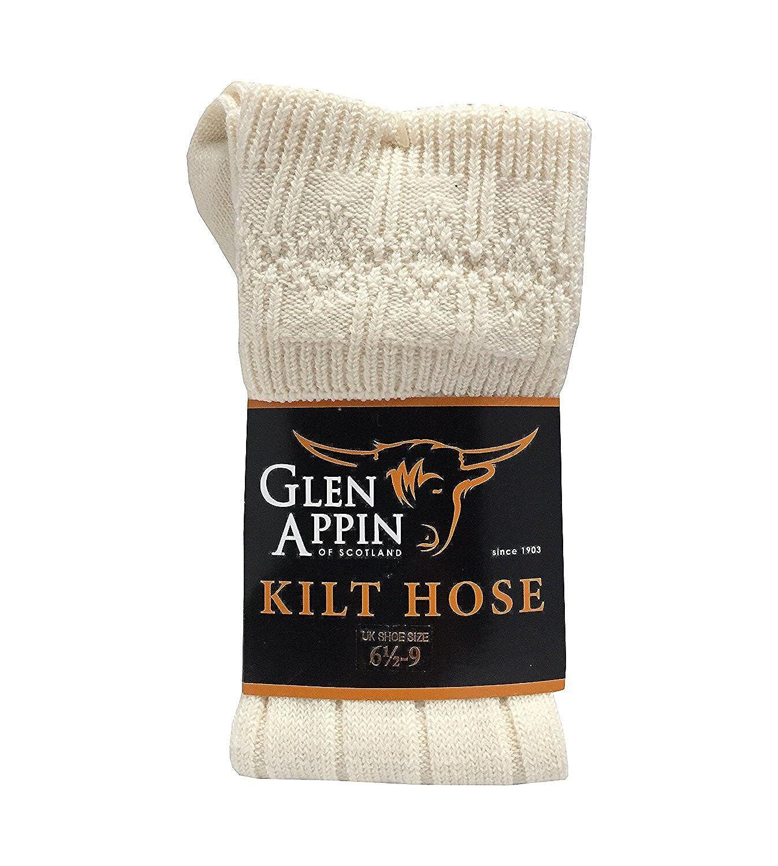 Mens Scottish Wool Kilt Hose Socks 6.5-9//9.5-13
