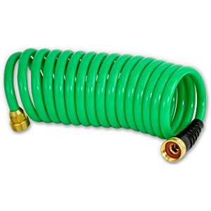 Hosecoil 3/8-Inch Self Coiling - Best Air Hose Fittings