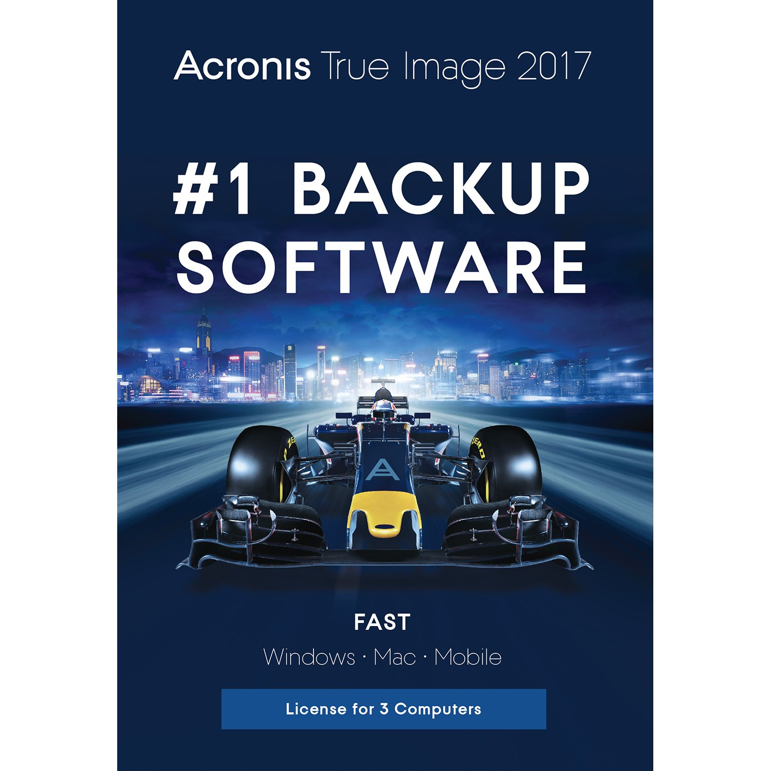 Acronis True Image 2017 - 3 Computer by Acronis