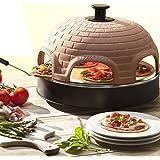 Emerio Pizzarette Forno Originale Mini-Pizza per 4 Persone