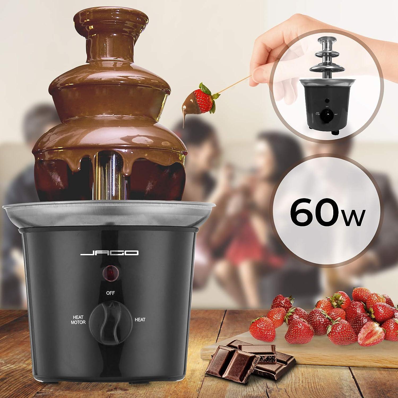 Sélection de fontaine et fondue au chocolat pour les gourmands qui aiment le chocolat