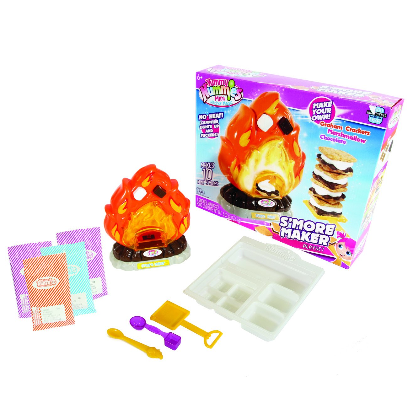 Yummy Nummy Mini Kitchen Playset S'Mores Maker by Yummy Nummy