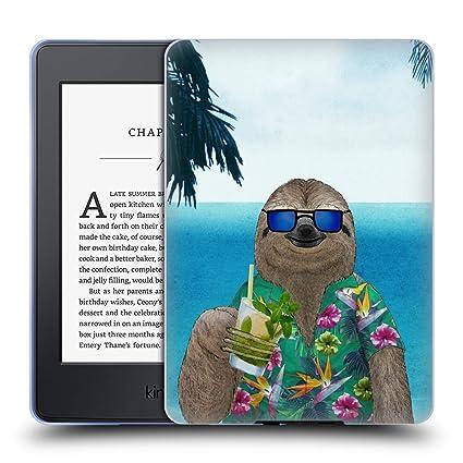 Amazon.com: Official Barruf Sloth in Summer Animals Soft Gel ...