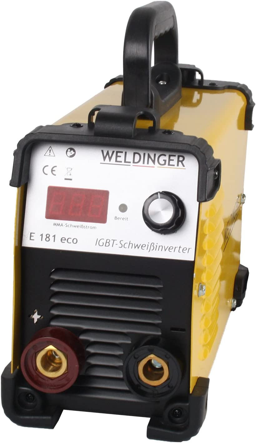 WELDINGER Elektroden Komplettset Schweißinverter E 181 eco