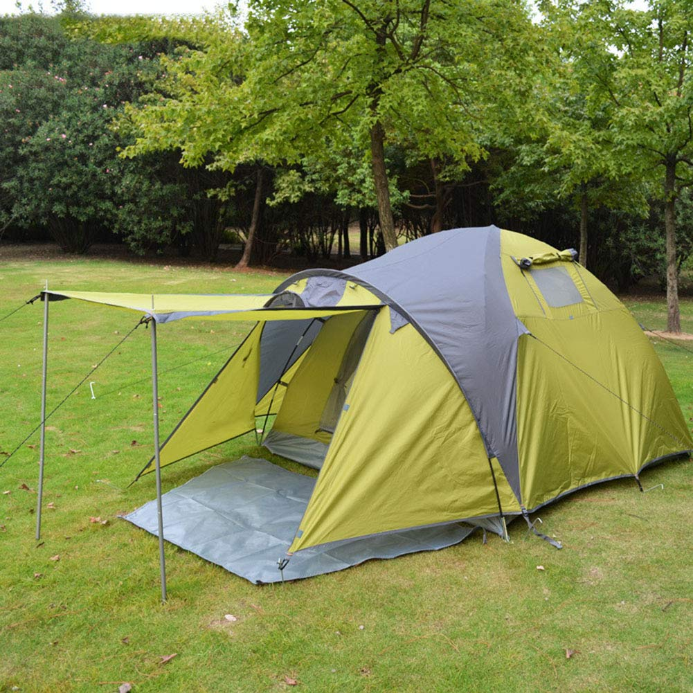 Zelt, 3-4 Personen Outdoor Family Camping Zelte Ultralight Large Space Windproof Rainproof Household Zents