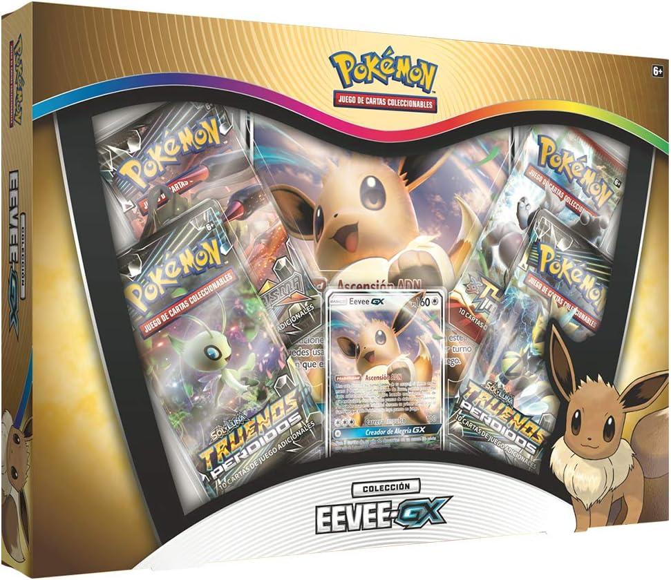Pokémon Colección Eevee-GX - Español (POGX1902): Amazon.es: Juguetes y juegos