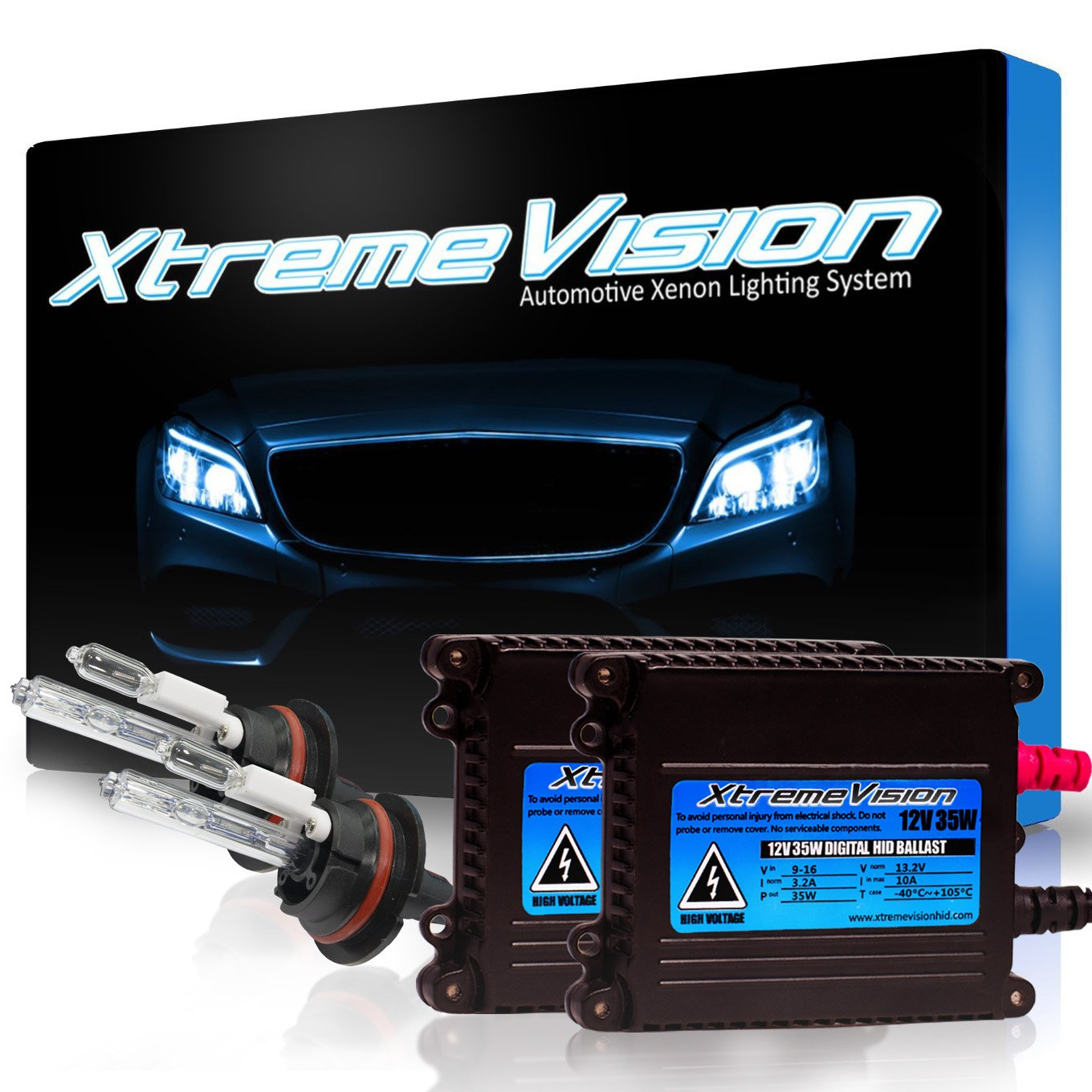 5.	XtremeVision® 35W High Intensity Discharge Xenon Conversion Kit with Premium Slim Ballast