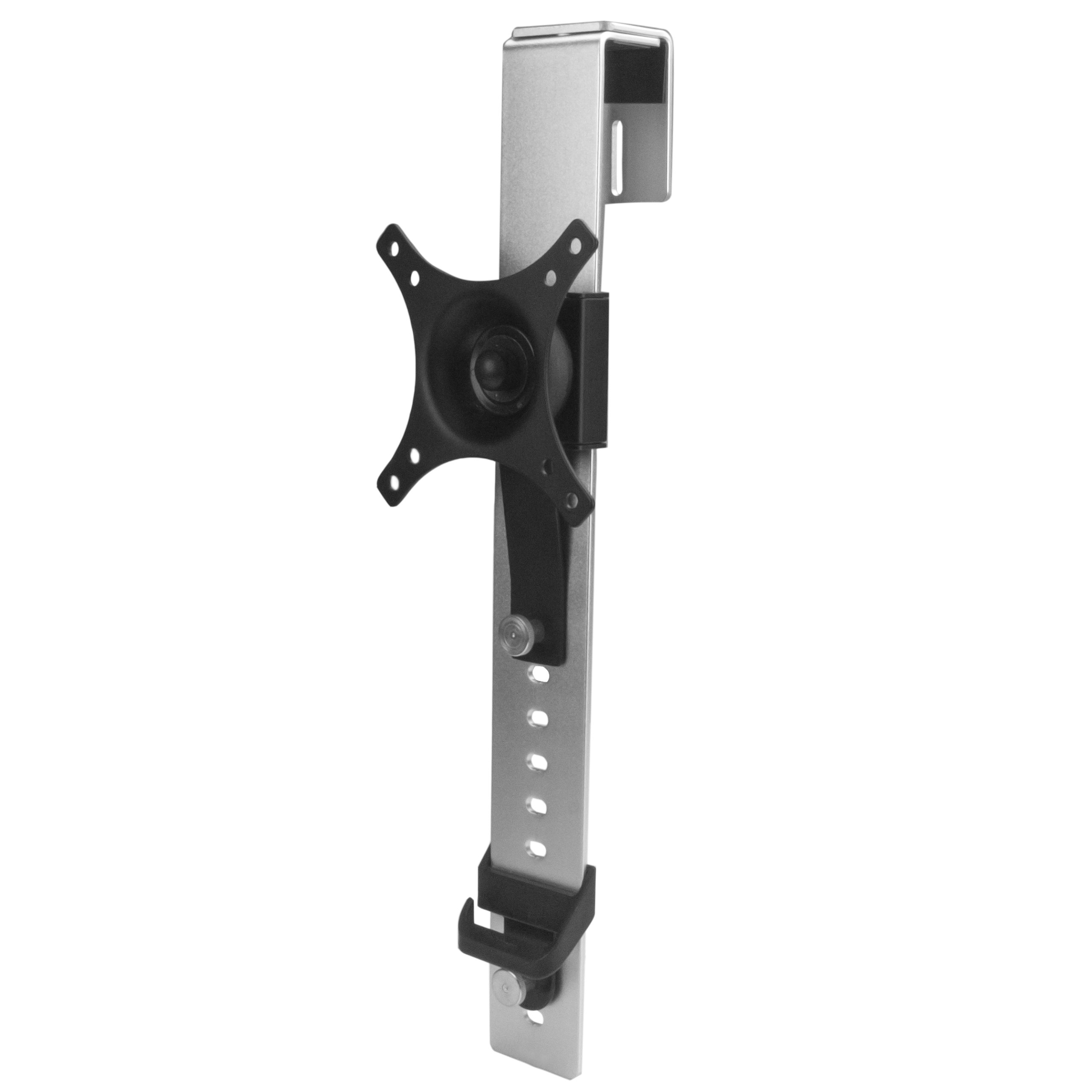 """StarTech Cubicle Monitor Mount - Supports Monitors up to 30"""" - Cubicle Wall Monitor Hanger - VESA Mount - Monitor Arm"""