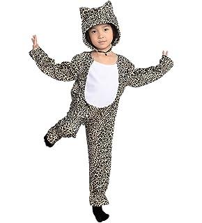 Leoparden Kostum F128 Gr 116 122 Fur Kinder Leoparden Kostume Fur