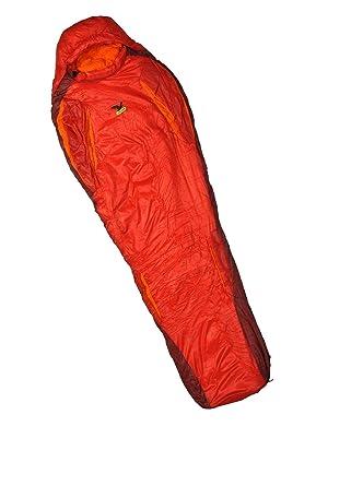 SALEWA Phantom 3d Flex 14 Xl Sb - Saco de dormir de plumón rojo Mars Red Talla:LEFT: Amazon.es: Deportes y aire libre
