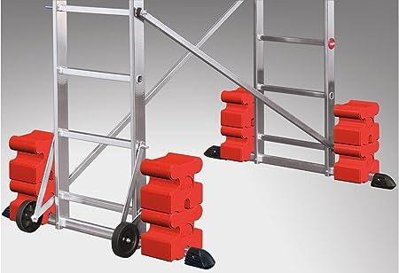 Nuevo, Hailo ProfiStep concreto de lastre para escalera andamio himry Base Element 12,5 kg referí 9478-011: Amazon.es: Hogar