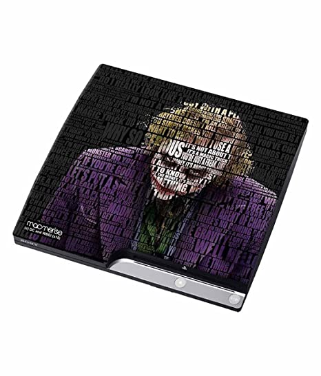 buy macmerise joker quotes skin for sony ps online at low