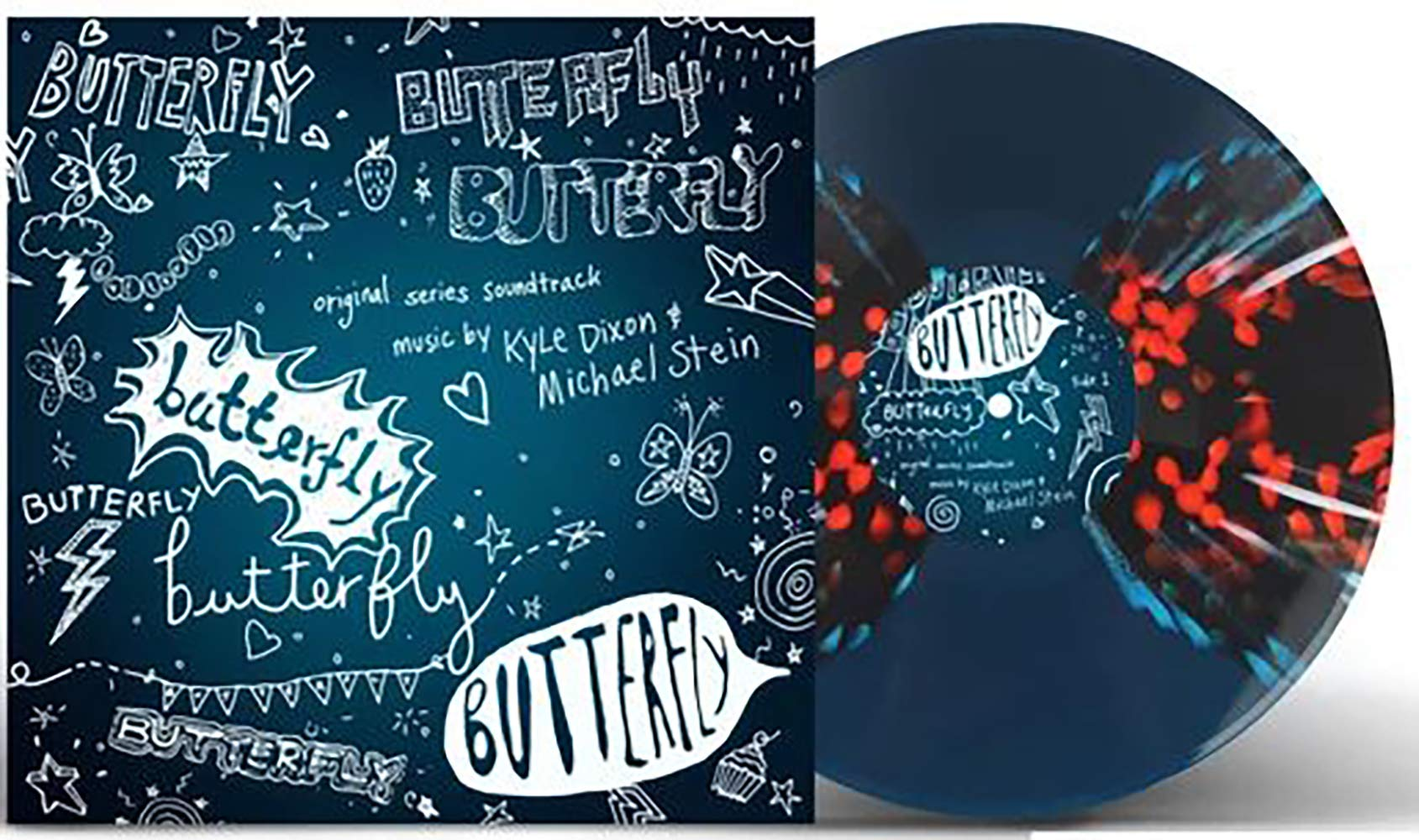 Butterfly (Original Series Soundtrack) - Exclusive Limited Edition ''Butterfly Effect'' Colored Vinyl LP by Invada Records.