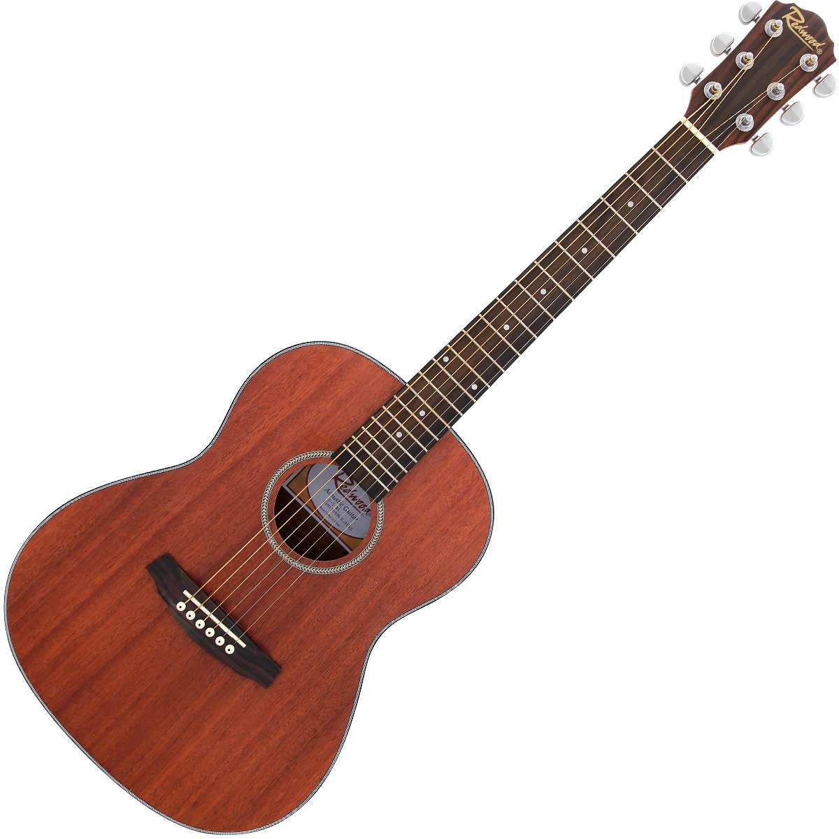 Redwood F-5 Parlour Shape Acoustic Guitar With Sapele Body - Open Pore Natural