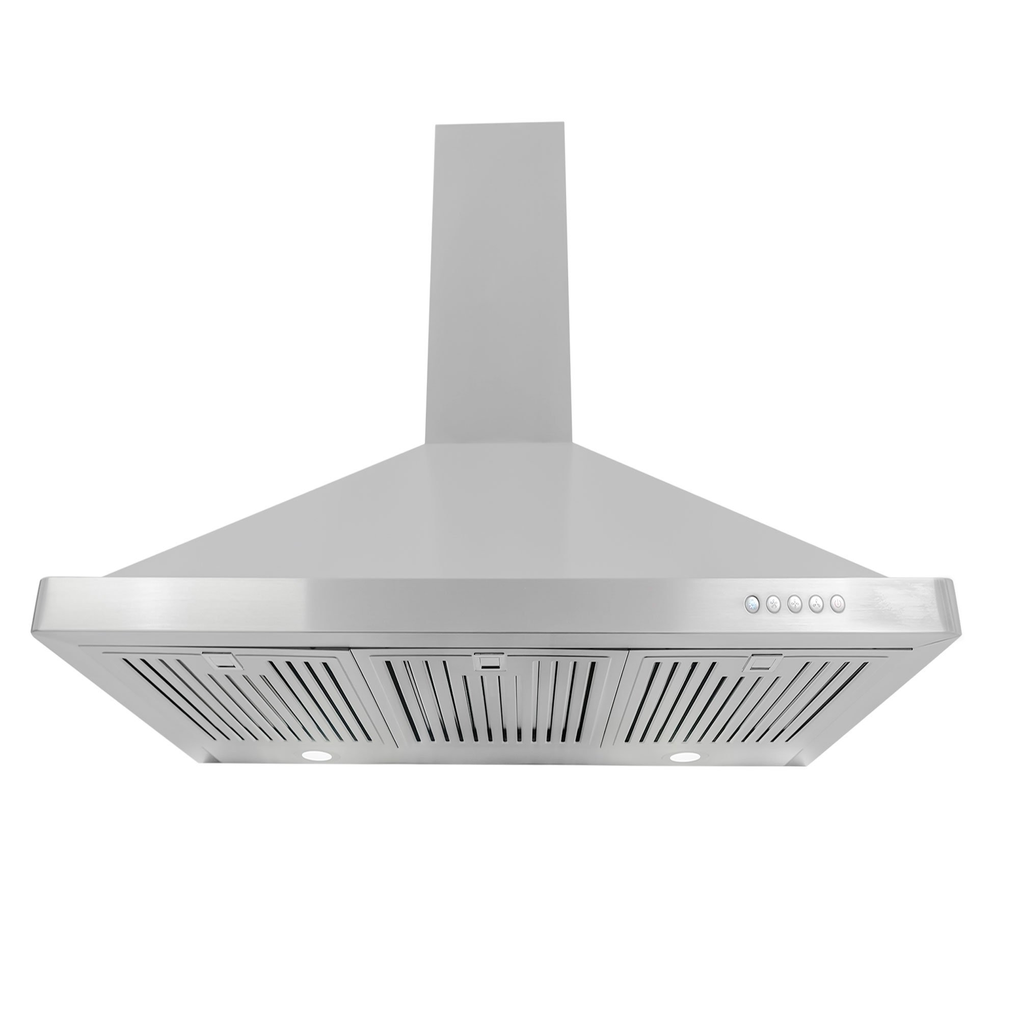 Cosmo 63190FT900 36 in. Wall Mount Range Hood with Push Button Controls, LED Lighting and Permanent Filters