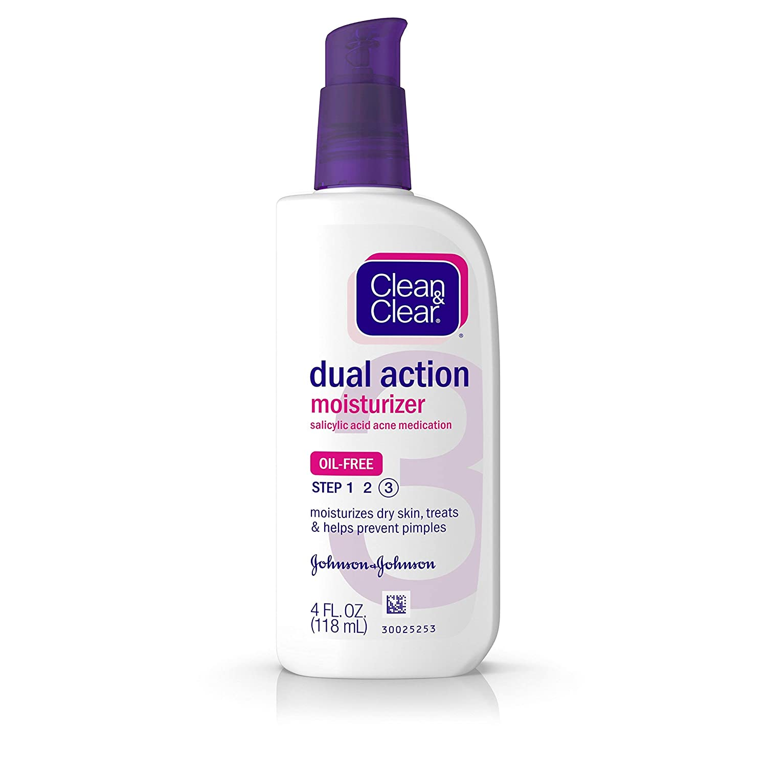 Amazon.com  Clean   Clear Essentials Dual Action Face Moisturizer with  Salicylic Acid Acne Medication 9e9a16e71ca01