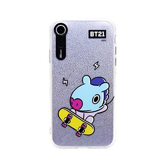 reputable site 731cd a755c iPhone XR Case, BTS BT21 Official Light Up Phone Case-Hang Out (MANG)
