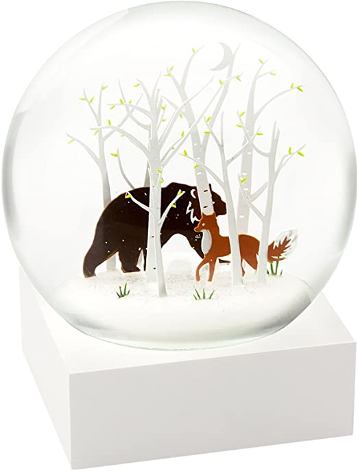 50% off hot product coupon code Amazon.com: CoolSnowGlobes Fox and Bear Cool Snow Globe ...