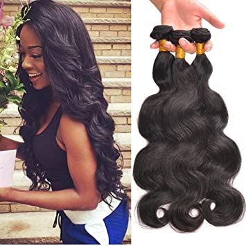 Learned Ali Pearl Hair Brazilian Straight Hair Weave Bundles Human Hair 3 And 4 Bundles 8-26 Natural Black 1 Pcs Remy Hair Extension Hair Weaves