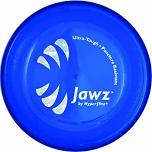 Hyperflite Jawz Competition Dog Disc 8.75 Inch, Worlds Toughest, Best Flying, Puncture Resistant, Dog Frisbee, Not a Toy Competition Grade, Outdoor Flying Disc Training