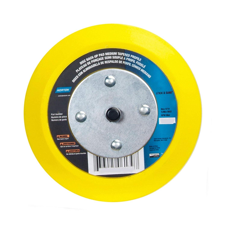 NORTON 63642506141 Adhesive//PSA Disc BU Pad,6D