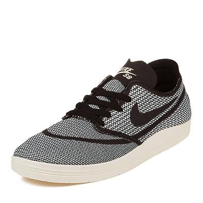 wholesale dealer 614d3 e9b38 closeout nike sb lunar oneshot skate shoes ivory black uk 10 eu 45 9a4d6  ed42e