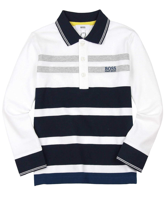 BOSS Boys Multi Striped Polo Sizes 6-16