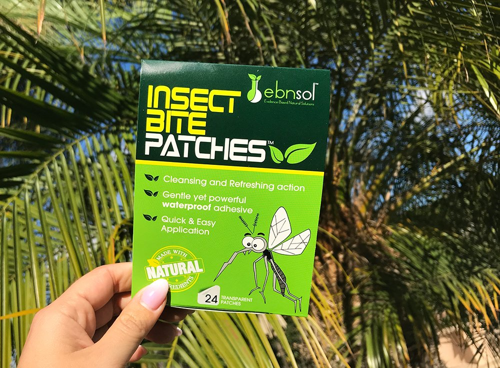After Insect Bite Patches™ - Natural After Insect Bite Cosmetic Patches ● Reduce Appearance of Redness & Itching ● Protect Affected Area ● 100% Satisfaction Guarantee by ebnsol (Image #1)
