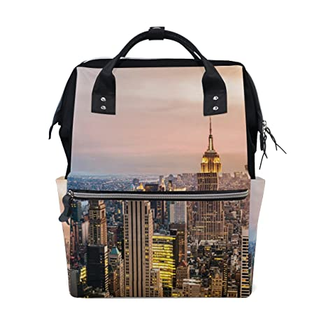 b59a21a540 Image Unavailable. Image not available for. Color  JSTEL Laptop College Bags  Student Travel New York City ...