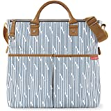 Skip Hop Duo Special Edition Diaper Bag, Blueprint Stripe, Blue/White