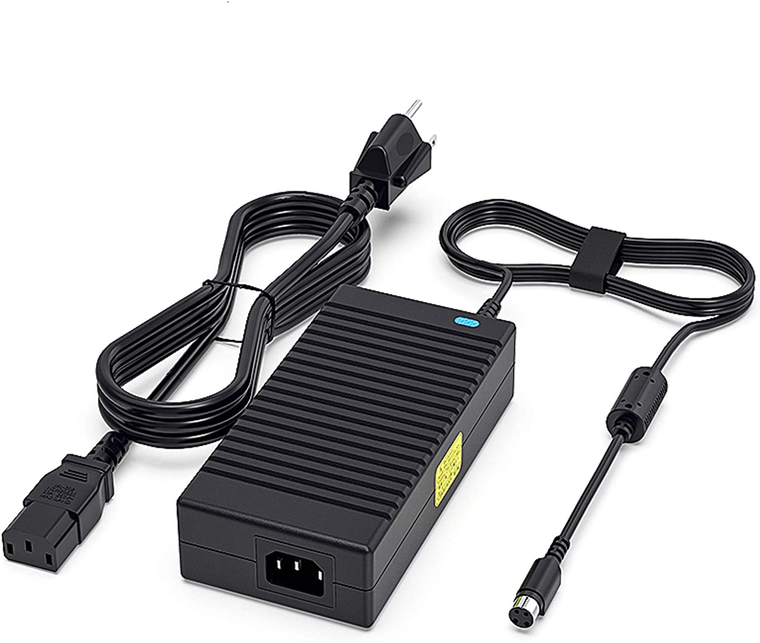 Delippo 19V 9.5A 180W 4 Pin Laptop Charger for Toshiba Qosmio X75 X70 X875 X870 X775 X770 X505 X500 X305; X875-Q7390 X75-A7298 X75-A7295 X70-ABT3G22 X875-Q7190