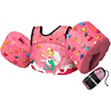 Chriffer Kids Swim Vest for 30-50 Pounds Boys and Girls, Toddler Floats with Shoulder Harness Arm Wings for 2,3,4,5,6,7…