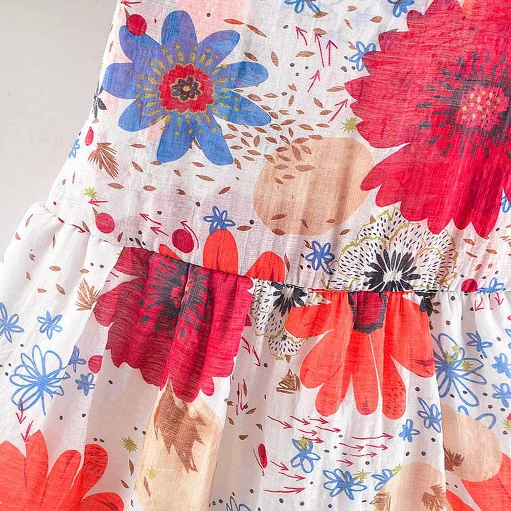 Hut L/ässige Kleidung Set JUTOO 2 Set Neugeborenes Baby Kinder M/ädchen Blumendruck Bowknot Princess Dress