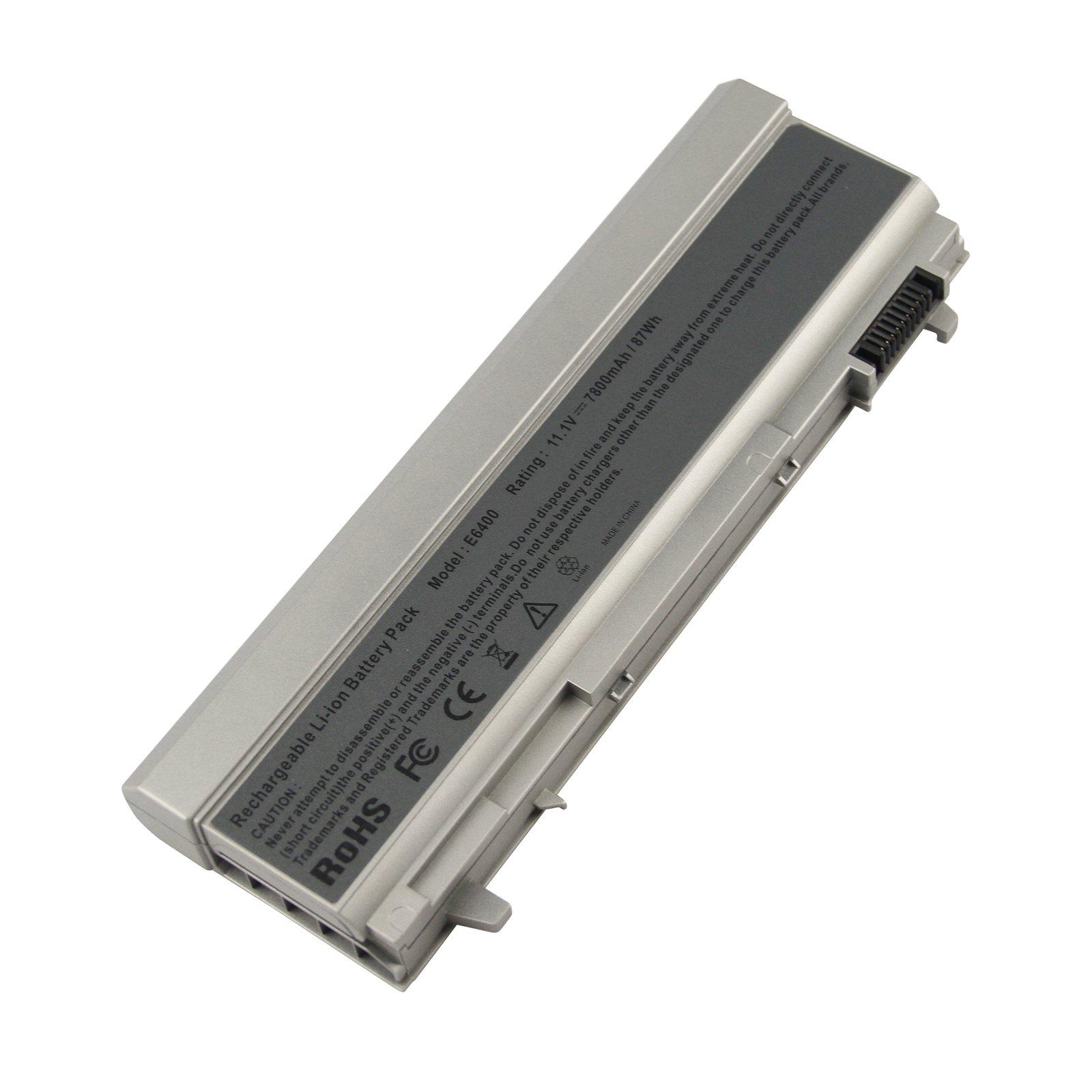 Bateria 9 Celdas 7800mAh para Dell Latitude E6400 E6410 E6500 E6510 Precision M2400 M4400 M4500 PN 312-0748 312-0749 312