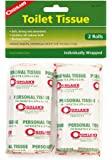 Coghlan's Packable Camp Toilet Tissue, 2-Rolls