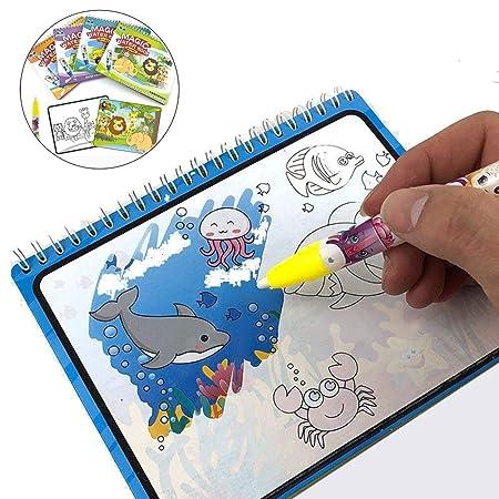 JWTOY Juguete De Libros para Colorear para NiñOs, Alfombra ...