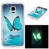 Galaxy S5 Case, Firefish Luminous Noctilucent Glow