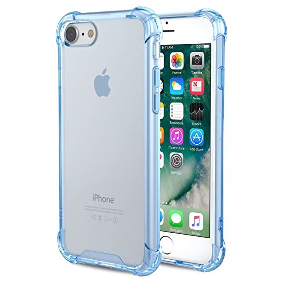 crystal clear iphone 8 case