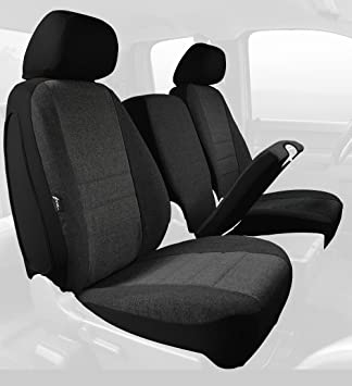 Tweed, Charcoal Fia OE38-16 Charc Custom Fit Front Seat Cover Split Seat 40//20//40
