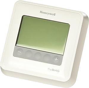 HONEYWELL TH4110U2005/U HONEYWELL-TH4110U2005/U-T4 Pro Thermostat, Non-Programmable, 1H/1C, White