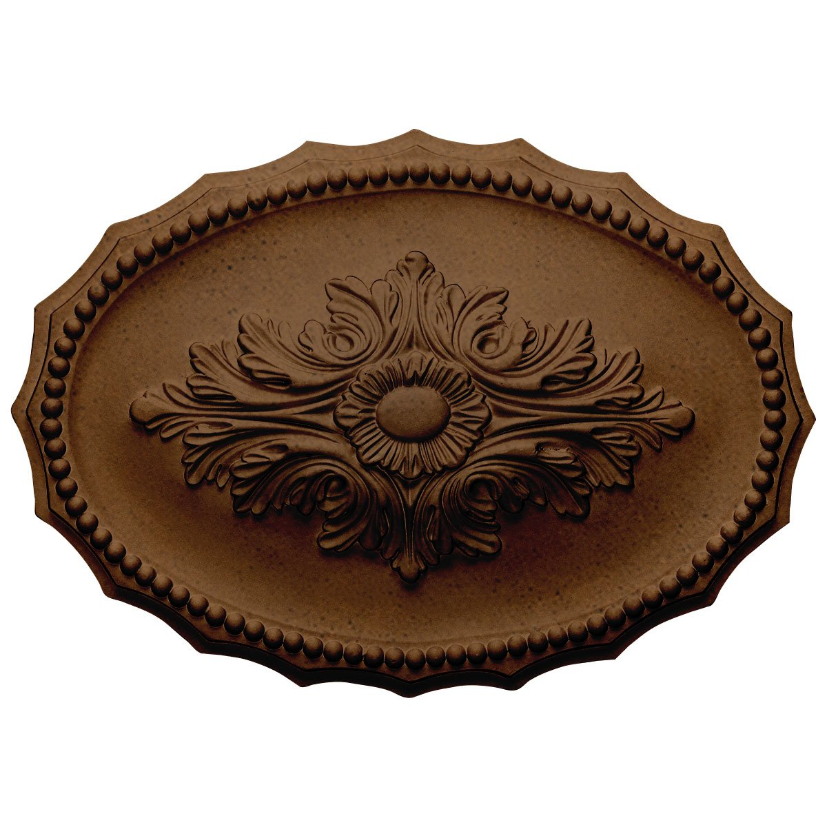 Ekena Millwork CM16OXRZS Oxford Ceiling Medallion, Rubbed Bronze by Ekena Millwork
