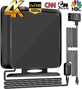BlueTek 135+Miles Directional Amplified HDTV Antenna