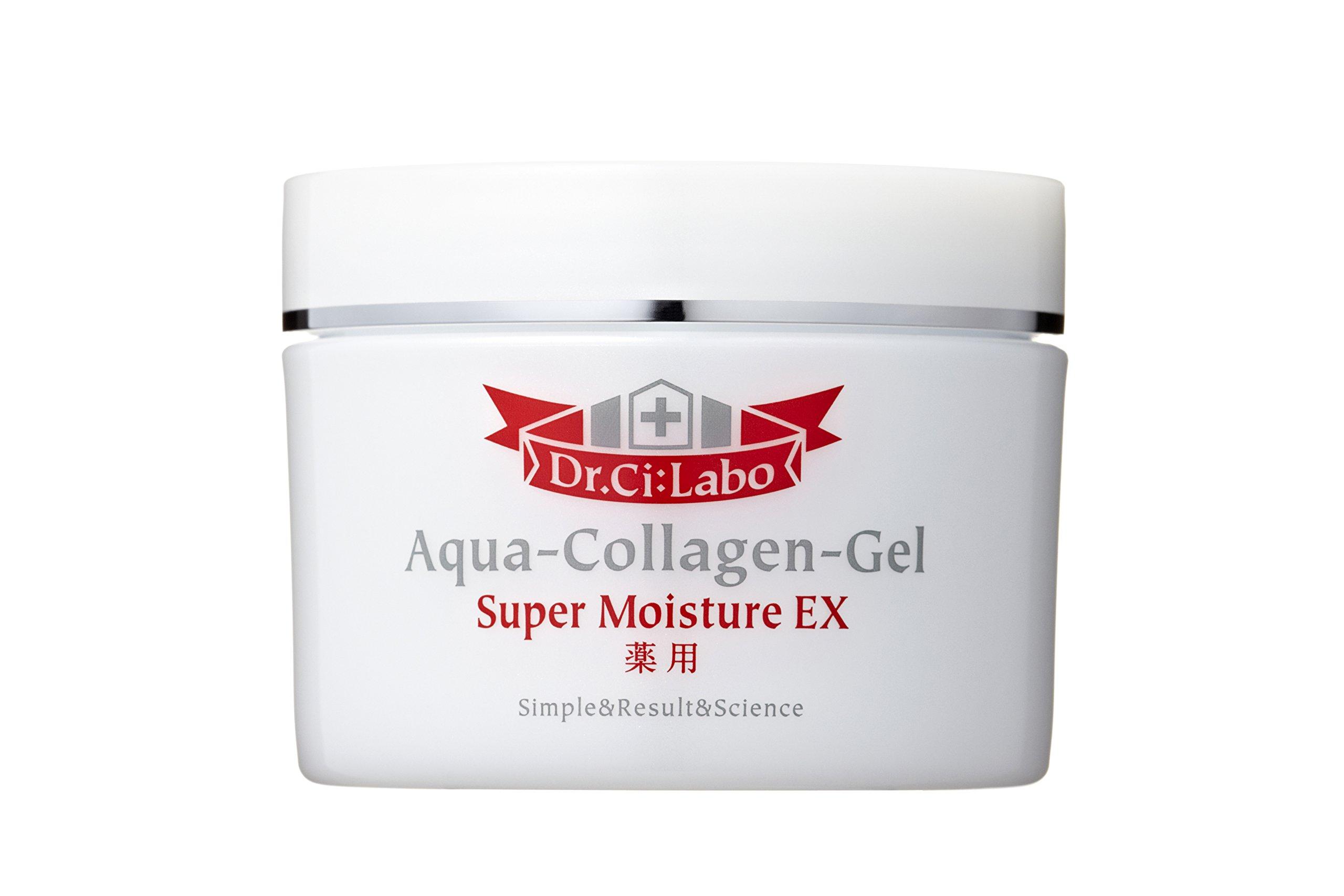 Dr.Ci Labo Japanese Skin Care Medicated Aqua-Collagen-Gel Super Moisture EX 200g by Dokutashirabo
