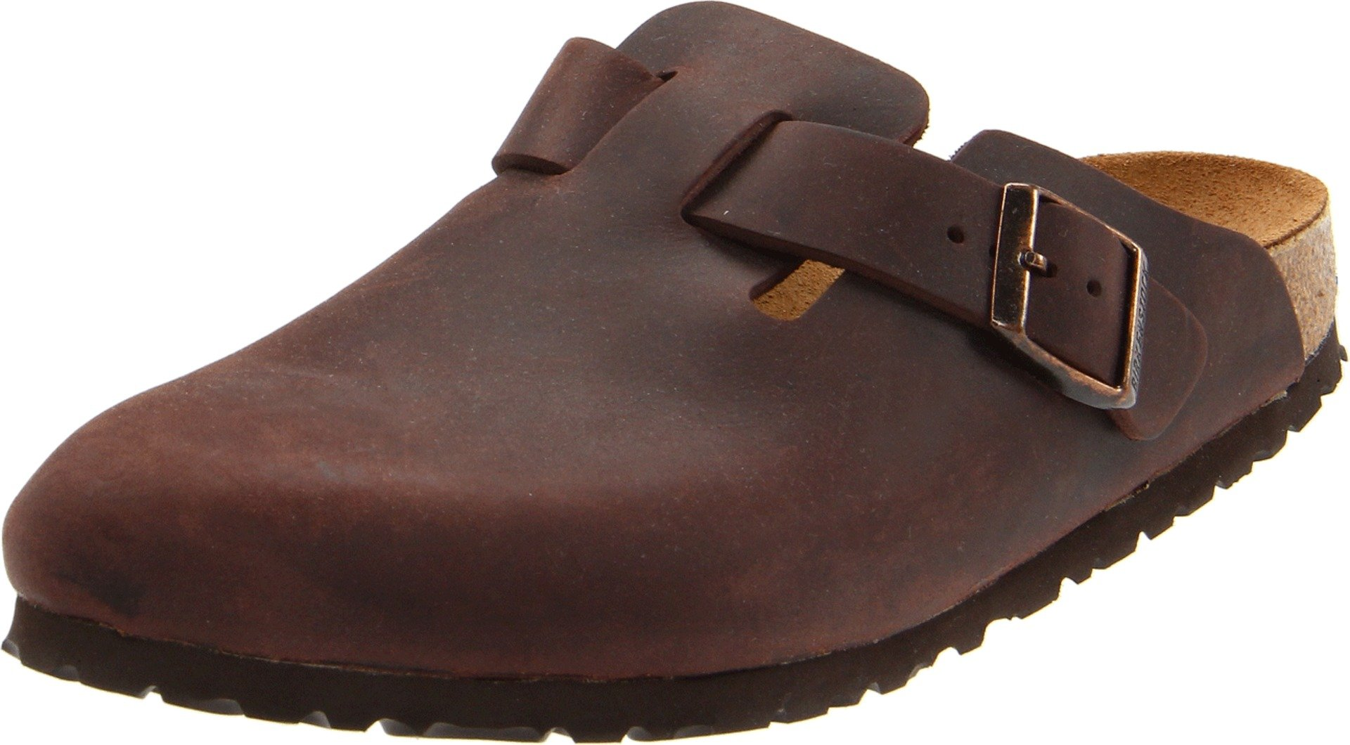 Birkenstock Unisex Boston Clog,Habana Oiled Leather,42 M EU