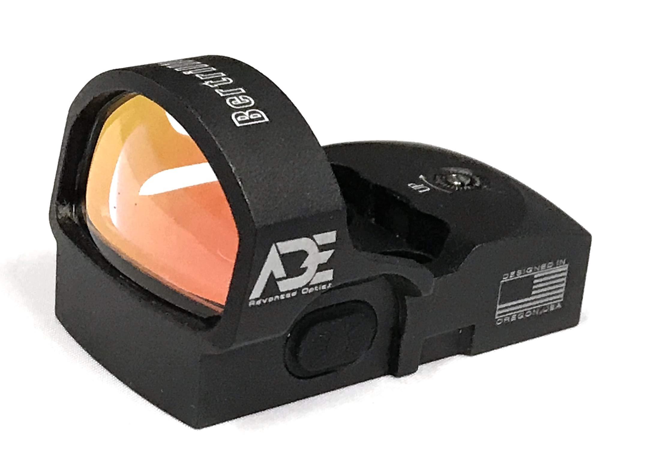 Ade Advanced Optics Bertrillium RD3-013 Red Dot Reflex Sight for Ruger SR9,SR9C,SR40C,SR40,SR45 Pistol by Ade Advanced Optics