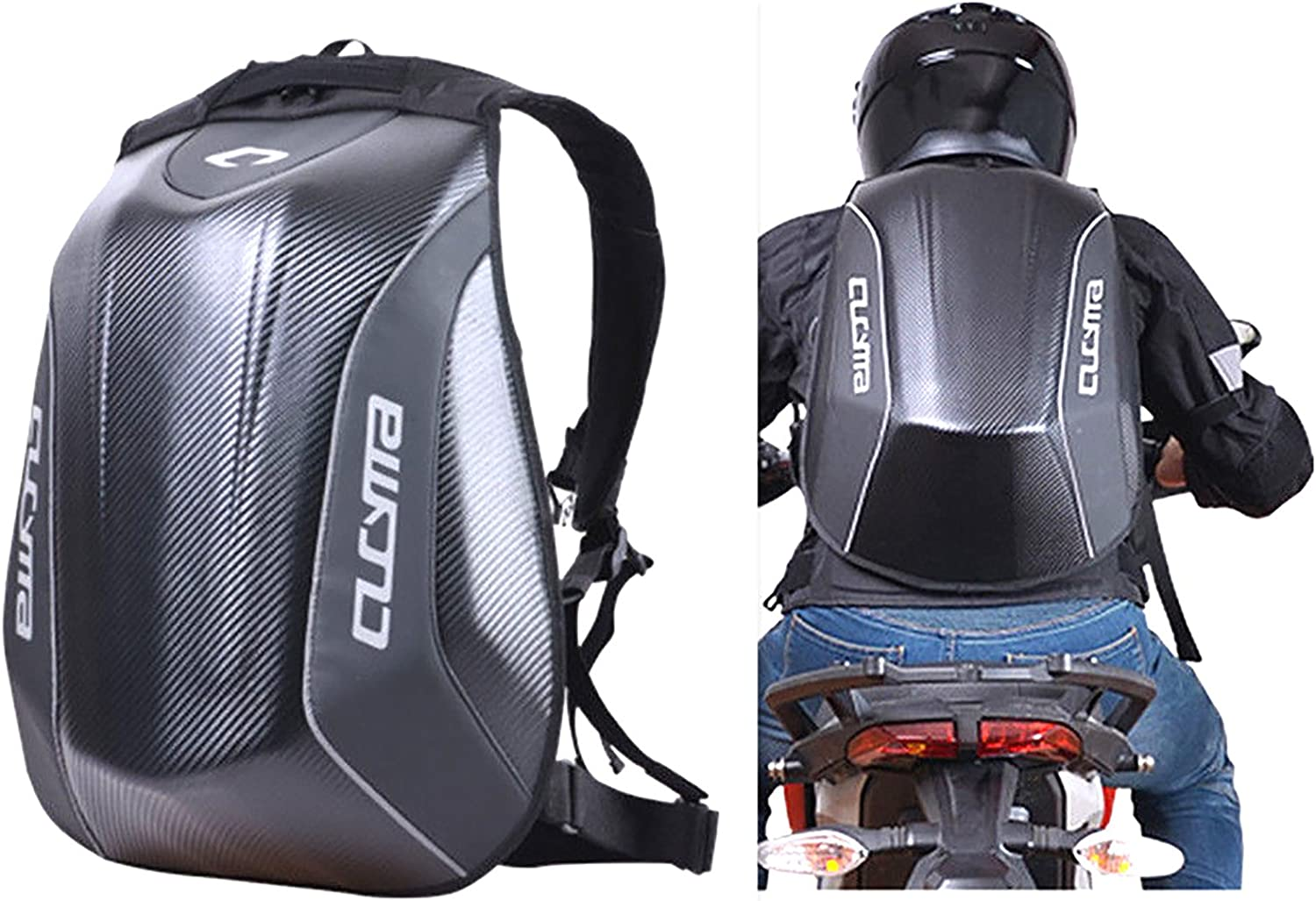 CUCYMA Motorcycle Backpack Motorsports Track Riding Back Pack