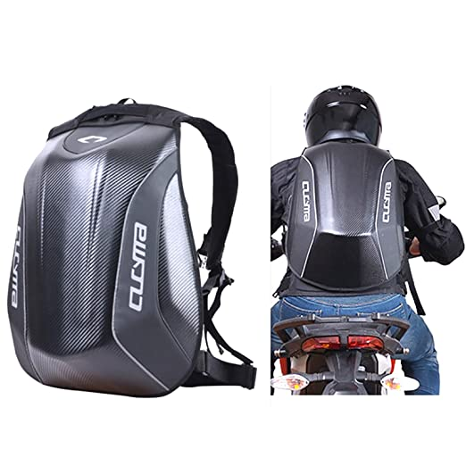 Amazon.com   Motorcycle Backpack Motorsports Track Riding Back Pack Stealth  No Drag Molded   Sports   Outdoors 583fc8f5d0aaf